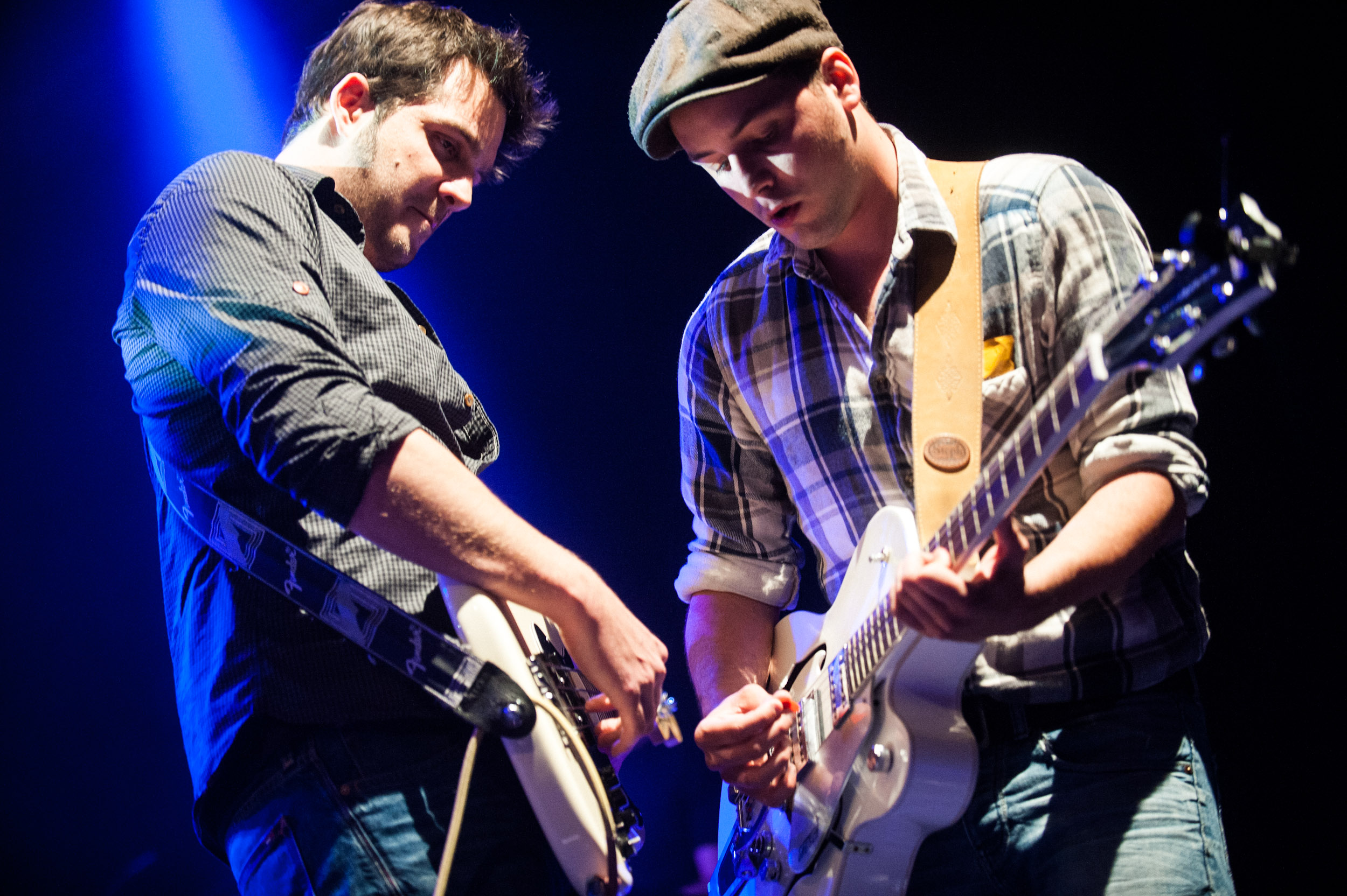 COGNAC: Charly and the Wagabonds perfomrs in West rock. 18/04/2014