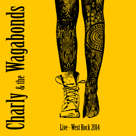 CHARLY & THE WAGABONDS Pochette EP Live
